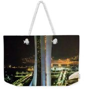 Boat Hotel From The Flyer Weekender Tote Bag
