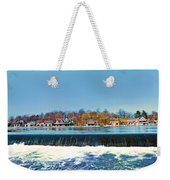 Boat House Row From Fairmount Dam Weekender Tote Bag