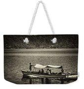Boat - Lago De Coatepeque, El Salvador Weekender Tote Bag