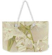 Boat Orchid  Cymbidium Weekender Tote Bag