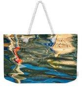 Boat Reflections - Hvar Croatia Weekender Tote Bag