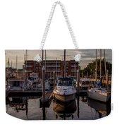 Boat Slip Weekender Tote Bag