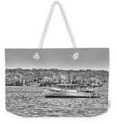 Lobster Boat Mount Sinai Harbor Li.ny Weekender Tote Bag