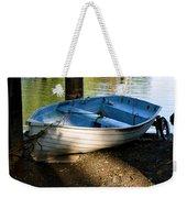 Boat Under The Bridge Weekender Tote Bag