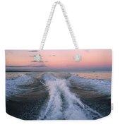 Boat Waves Weekender Tote Bag