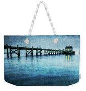 Boathouse Blue Weekender Tote Bag