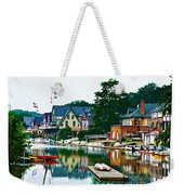 Boathouse Row In Philly Weekender Tote Bag