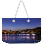 Boathouse Row Philly Weekender Tote Bag
