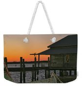 Boathouse Sunset Weekender Tote Bag