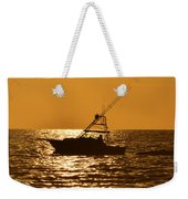 Boating And Fishing Weekender Tote Bag