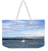 Boating At Bandon Weekender Tote Bag