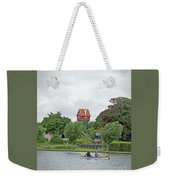 Boating In Thorpeness Weekender Tote Bag