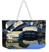Boating Incident Weekender Tote Bag