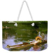 Boating Scene At Maidenhead Sir John Lavery Weekender Tote Bag