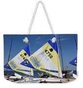 Boats 168 Weekender Tote Bag