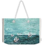 Boats And Birds Weekender Tote Bag