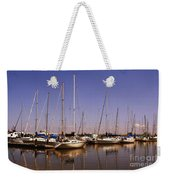Boats And Reflections Weekender Tote Bag