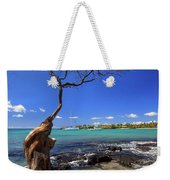 Boats At Anaehoomalu Bay Weekender Tote Bag
