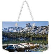 Boats At Dock Weekender Tote Bag