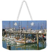 Boats At Fisherman Weekender Tote Bag