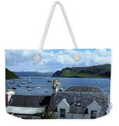 Boats At Portree Weekender Tote Bag