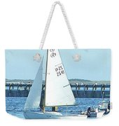 Boats At Provincetown Weekender Tote Bag