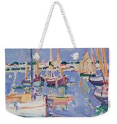 Boats At Royan Weekender Tote Bag