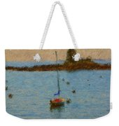 Boats At Smugglers Cove Boothbay Harbor Maine Weekender Tote Bag
