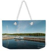 Boats At The Dock Weekender Tote Bag
