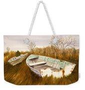 Boats By Causeway Weekender Tote Bag