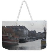 Copenhagen Waterway Weekender Tote Bag