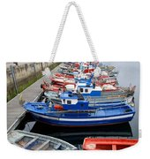 Boats In Norway Weekender Tote Bag