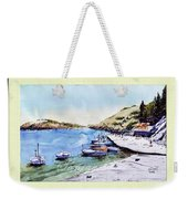 Boats In Spain Weekender Tote Bag