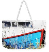 Boats In The Garden Weekender Tote Bag
