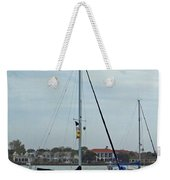 Boats In The Inlet Weekender Tote Bag