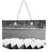 Boats - Lower Twin Lake Bw Weekender Tote Bag