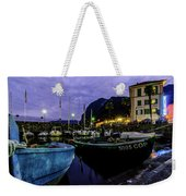 Boats Of The Lake Weekender Tote Bag