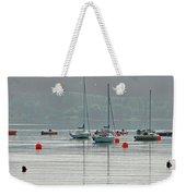 Boats On Carsington Water Weekender Tote Bag