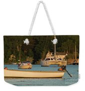 Boats On Mylor Creek Weekender Tote Bag