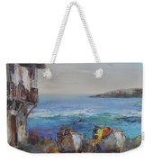 Boats On The Cost Weekender Tote Bag