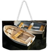 Boats On The Lake Weekender Tote Bag