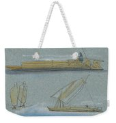 Boats On The Nile Weekender Tote Bag