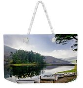 Boats On The Shore. Weekender Tote Bag