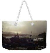 Boats, Portree, Isle Of Skye Weekender Tote Bag