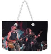 Bob Weir And John K. - Furthur Weekender Tote Bag