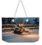 Bob Cat Snow Weekender Tote Bag