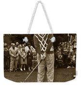 Bob Hope At Pro-am At Pebble Beach California 1953 Weekender Tote Bag