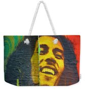 Bob Marley Door At Pickles Usvi Weekender Tote Bag