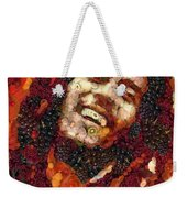 Bob Marley Vegged Out Weekender Tote Bag