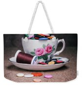 Bobbin And Buttons Weekender Tote Bag